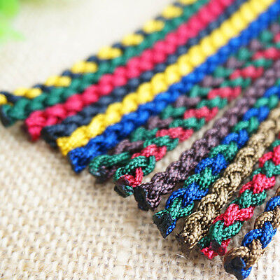 1X 30cm DIY Braiding Rope Thread String Bracelet Necklace Jewelry Woven Cords