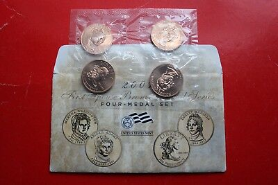 2007 US Mint First Spouse Bronze Medal Series Four Medal unc