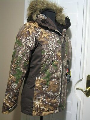 UNDER ARMOUR REACTOR INFRARED H STORM 2 REALTREE AP CAMO JACKET     size SMALL