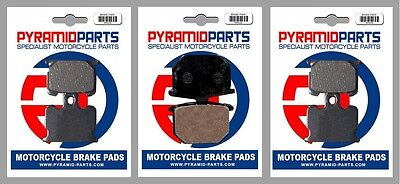 Front & Rear Brake Pads for Yamaha XS1100 S 1981