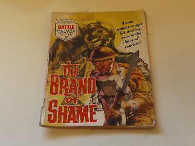 BATTLE PICTURE LIBRARY NO 46,dated 1962!,GOOD FOR AGE,VERY RARE,56 yrs old.