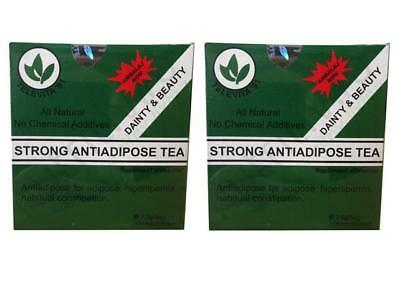 2 Strong Anti Adipose Tea Laxative Detox Very Effective For Weight Loss 60 Bags