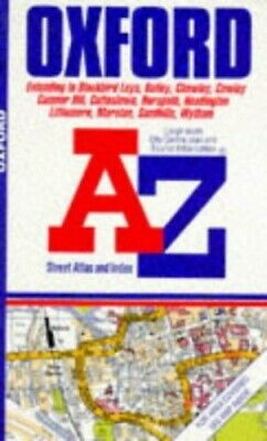 """A. to Z. Street Atlas of Oxford: 1m-3.75"""" (... by Geographers' A-Z Map Paperback"""