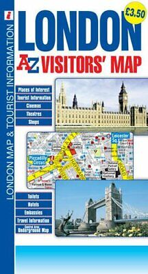 London Visitors Map by Geographers A-Z Map Co Ltd Book The Cheap Fast Free Post