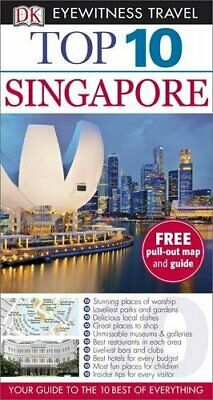 DK Eyewitness Top 10 Travel Guide: Singapore by DK Travel Book The Cheap Fast