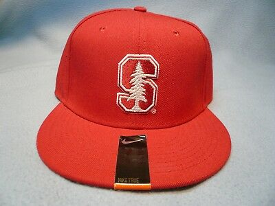 d9886ef626601 Nike Stanford Cardinal Size 7 3 8 Vapor True Fitted BRAND NEW hat cap dri