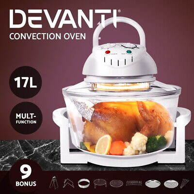 Devanti Ceramic 2000W Wall Mount Panel Heater LED Swing Timer Remote Warm Wind