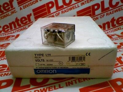 OMRON LY4-24DC (Used, Cleaned, Tested 2 year warranty)