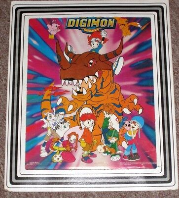 1999 Digimon Digital Monster 8 X 10 Poster