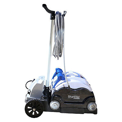 Hayward SharkVac Automatic Robotic Pool Cleaner with Caddy Cart | RC9742CUBY