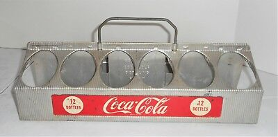 Coca-Cola Bottling Co. 12 Bottles Aluminum Carrier
