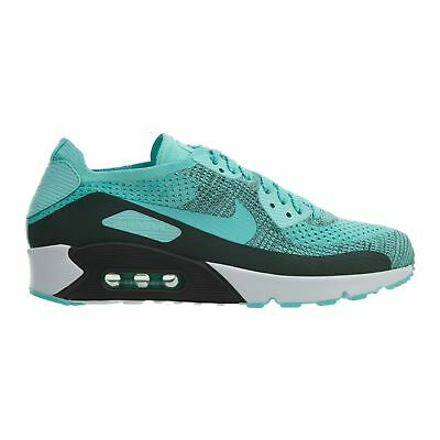 Nike AIR MAX 90 Ultra 2.0 Flyknit Hyper Turquoise Mens Running 875943 301