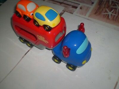 Lot Mini Bolide Voitures Camion