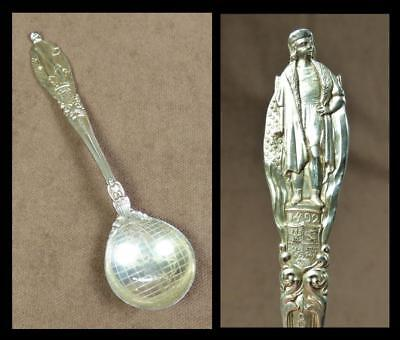 1893 TIFFANY & Co. USA - STERLING SILVER SPOON_CHRISTOPHER COLUMBUS Anniversary