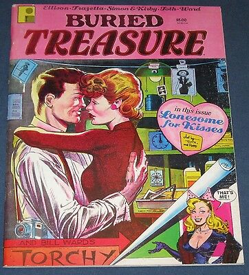 Buried Treasure #2  Frazetta, Ward, Toth, Simon & Kirby  Classic Reprints
