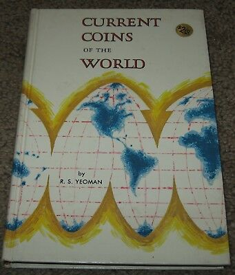 Current Coins Of The World Book 1966 1st Edition By R.S. Yeoman, Whitman Vintag