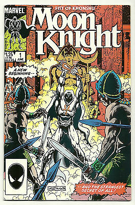 Moon Knight Fist Of Khonshu 1985 #1 2 3 4 5 6 Complete Set