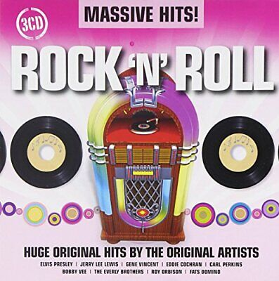 Various Artists - Massive Hits! - Rock 'N' Roll - Various Artists CD JEVG The
