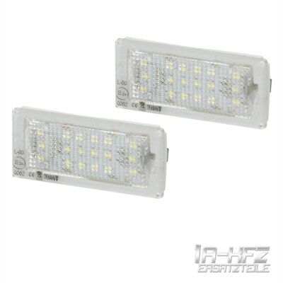 LED luz de la matricula set de 2 piezas para BMW 3 E46 Coupe Descapotable
