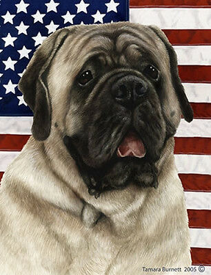 Garden Indoor/Outdoor Patriotic II Flag - Silver Mastiff 322771
