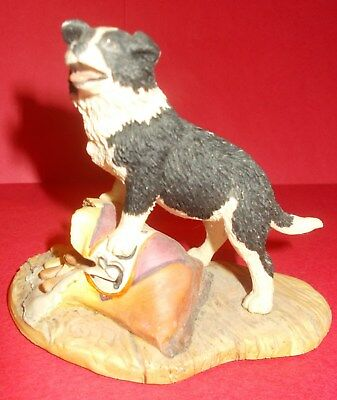 "Border Fine Arts Jh74 Figurine ""trouble Ahead"" - Every Living Thing"