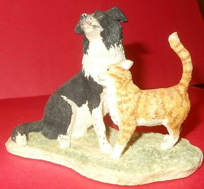"Border Fine Arts Jh87  Figurine ""just About Friends"" Every Living Thing"