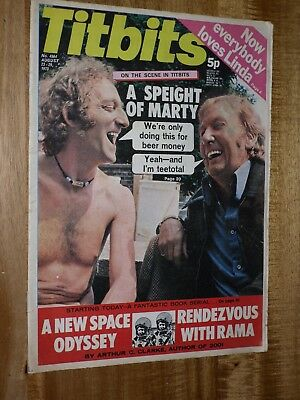 Tit-bits 29th August 1973  Speight & Marty  Cover