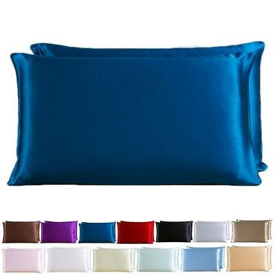 100% Pure Silk Comfortable 19 Momme Anti-Ageing Cushion Cover Pillowcase Perfect
