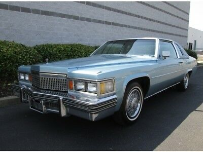DeVille Coupe 1979 Cadillac Coupe DeVille Low Miles 1 Owner Rare Find Stunning Caddy Must See