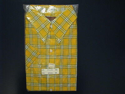 Vintage Sears Button Down Perma-Prest Shirt Size M 15 - 15 1/2 (Hong Kong) NEW