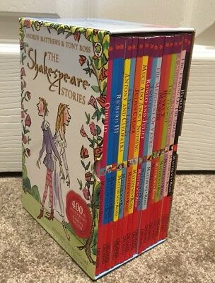 Childrens The Shakespeare Stories Book Collection