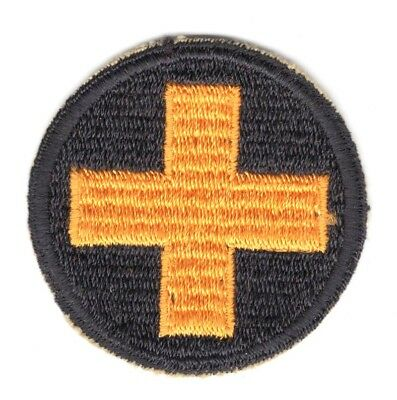 Army Patch: 33rd Infantry Division, cut edge, WWII era