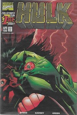 Hulk No.1 / 1999 Dynamic Forces Gold Foil Variant Cover with Certificate