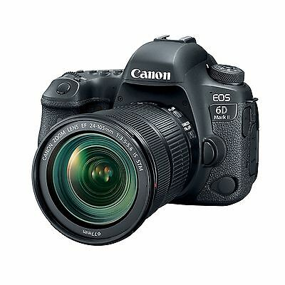 Canon EOS 6D Mark II w/24-105mm IS STM Lens & 64GB SDXC Card *NEW* *IN STOCK*