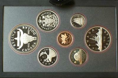 1982 CANADIAN PROOF SILVER DOUBLE DOLLAR SET KNOWN AS A PRESTIGE SET glb
