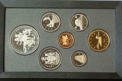 1990 CANADIAN PROOF SILVER DOUBLE DOLLAR SET ALSO KNOWN AS A PRESTIGE SET glb