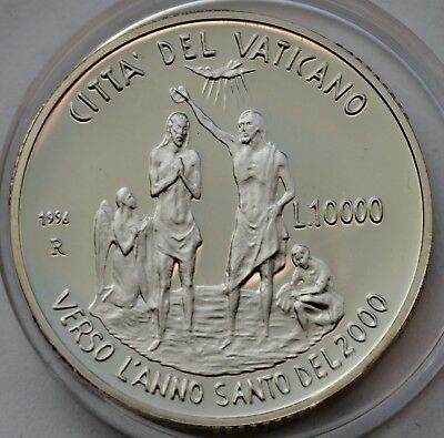10000 lire 1996, Vatican, THE HOLY YEAR 2000, Pope John Paul II