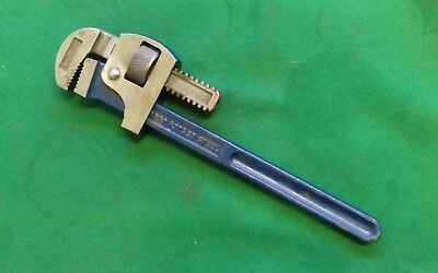 Record England 14  Inch Pipe Wrench / Stillson Vgc