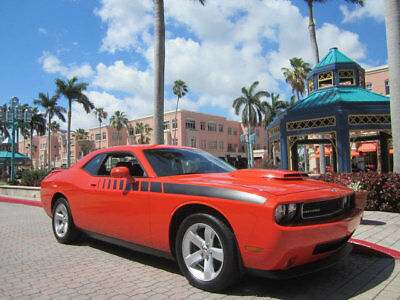 Dodge Challenger HEMI ORANGE R/T harp 2010 Hemi Orange Dodge Challenger RT 1 Owner Factory Hood Scoop Rear Wing