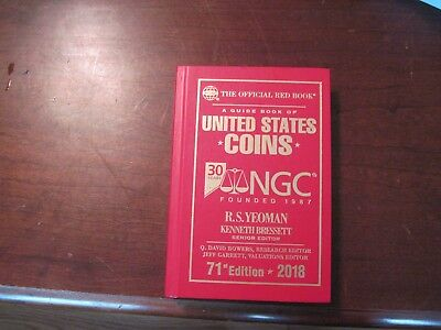 2018 Red Book 71st Edition 30th Anniversary NGC Edition