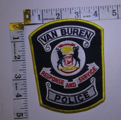 Van Buren Michigan Police Shoulder Patch
