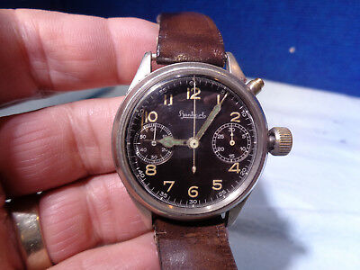*~ESTATE FIND~*  Vintage German Military Pilots Watch Wassergeschützt Stossfest