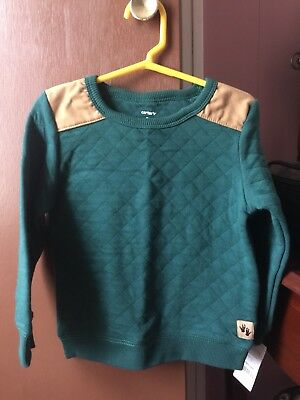 Toddler Boys 3T Crew Neck Sweater Carter's NWT