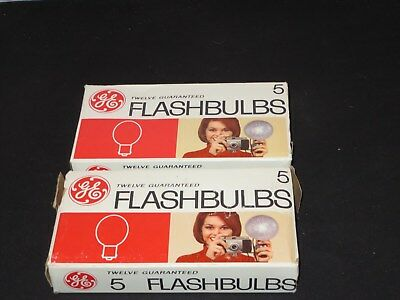 GE General Electric No. 5 Camera Flashbulbs 23 bulbs NOS NEW OLD STOCK