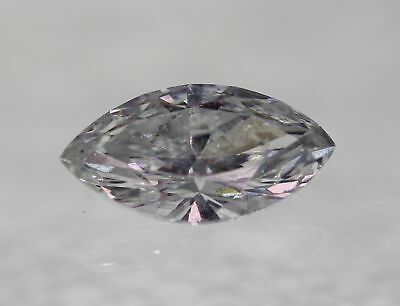Certified 0.75 Carat D SI1 Marquise Enhanced Natural Loose Diamond 8.91x4.8m 2VG