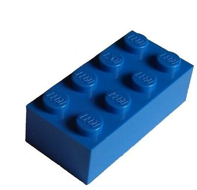 Modified 2 x 4 @@ Trans Blue 7153 7163 LEGO 6192 @@ Brick