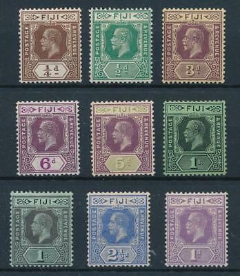 [50433] Fiji good lot MH Very Fine old stamps