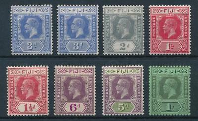 [50436] Fiji good lot MH Very Fine old stamps