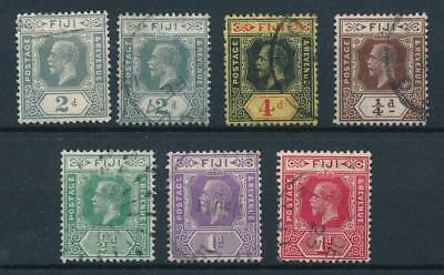 [50437] Fiji good lot Used Very Fine old stamps