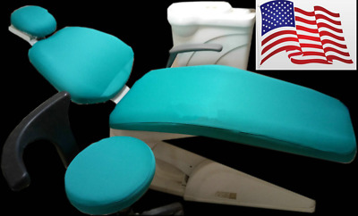 1 Set Dental Chair Unit Cover Cloth Dentist Stool Protector Sleeves USA Store